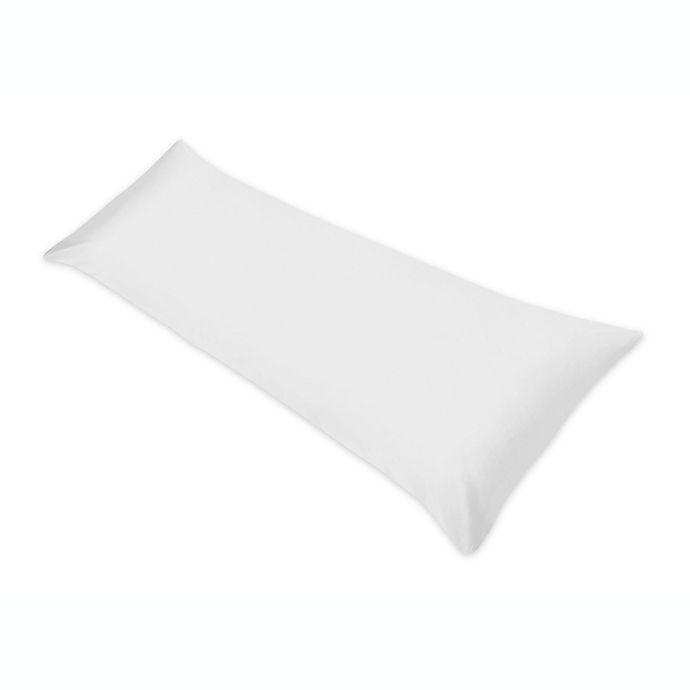 Alternate image 1 for Sweet Jojo Designs Maternity Body Pillow Case in White