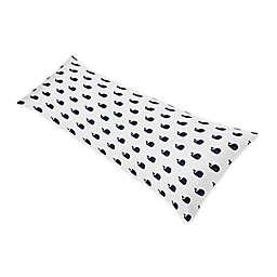 Sweet Jojo Designs® Whale Body Pillowcase