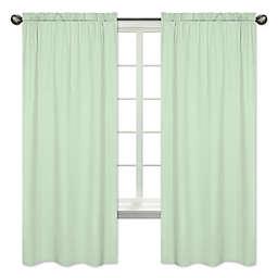 Sweet Jojo Designs® 84-Inch Window Panels in Mint (Set of 2)