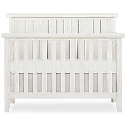 SweetPea Red Wood 4-in-1 Convertible Crib in Weathered White