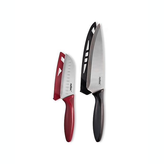 Alternate image 1 for Zyliss® 2-Piece Chef and Santoku Knife Set