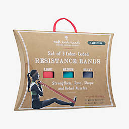 Oak and Reed Resistance Bands (Set of 3)
