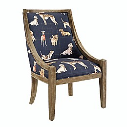 Ranly Dog Patterned Accent Chair