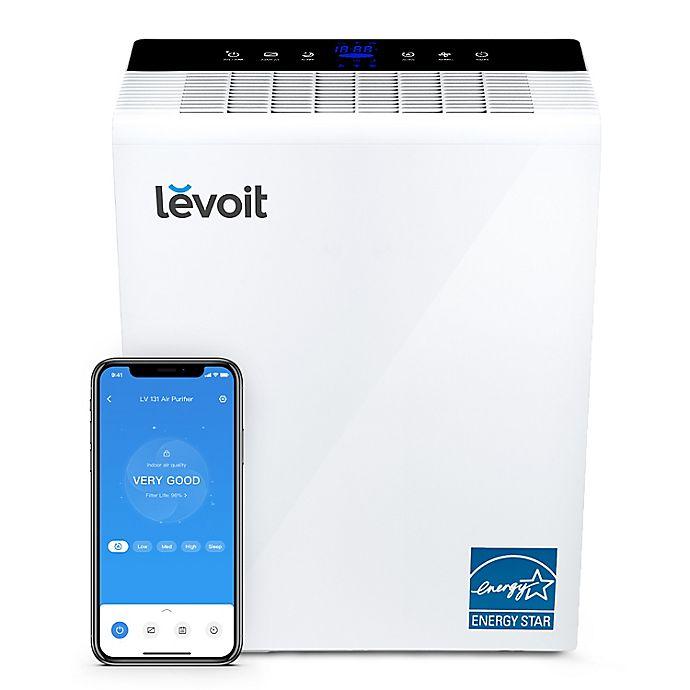 Alternate image 1 for Levoit Smart True HEPA Air Purifier in White