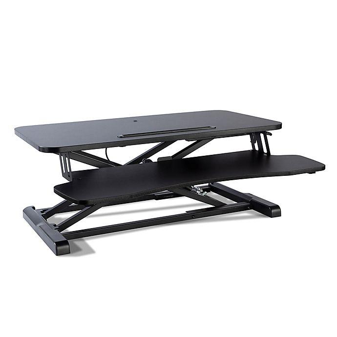 Alternate image 1 for Atlantic Adjustable Standing Large Desk Converter in Black