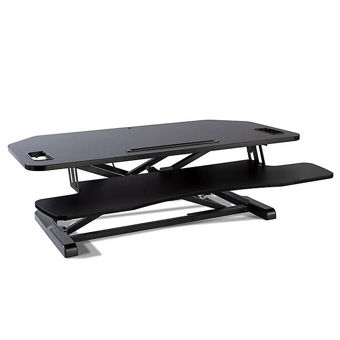 Alternate image 1 for Atlantic Adjustable Standing Desk Converter in Black
