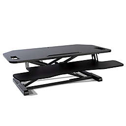 Atlantic Adjustable Standing Desk Converter in Black