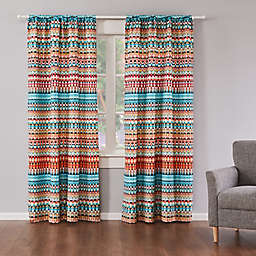 Levtex Home Corona 2-Pack 84-Inch Rod Pocket Window Curtain Panels