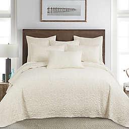 Homthreads Beckett 3-Piece Reversible King Bedspread Set in Cream