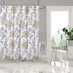 Levtex Home 72-Inch x 72-Inch Robin Basel Shower Curtain in Grey