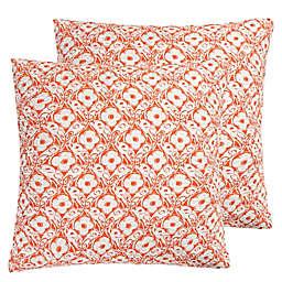 Levtex Home Cleo European Pillow Shams (Set of 2)