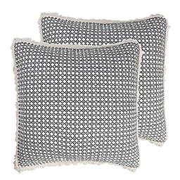 Levtex Home Coronado European Pillow Sham in Black (Set of 2)