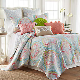 Levtex Home Italia 2-Piece Reversible Twin Quilt Set