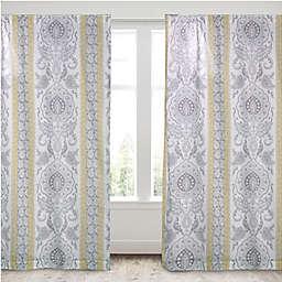 Levtex Home Katja 2-Pack 84-Inch Rod Pocket Window Curtain Panels in Ivory