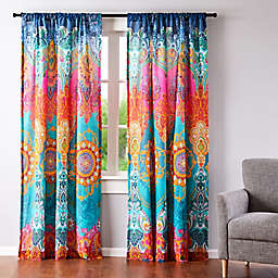 Levtex Home Madalyn 2-Pack 84-Inch Rod Pocket Window Curtain Panels