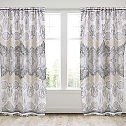 Levtex Home Marcell 2-Pack 84-Inch Rod Pocket Window Curtain Panels
