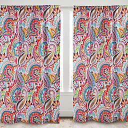 Levtex Home Sakari 2-Pack 84-Inch Rod Pocket Window Curtain Panels