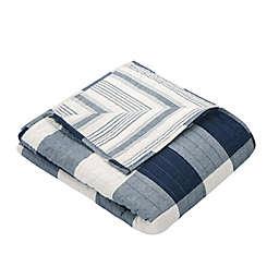 Levtex Home Camden Reversible Throw Blanket in Navy
