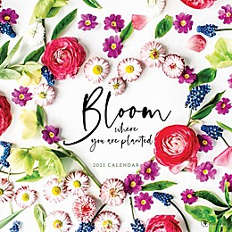 TF Publishing 2021 Bloom Wall Calendar