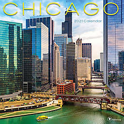 TF Publishing Chicago 2021 Wall Calendar