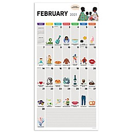TF Publishing 2021 Every Day's A Holiday Wall Calendar