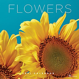 TF Publishing 2021 Flowers Wall Calendar
