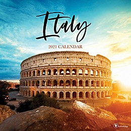 TF Publishing 2021 Italy Wall Calendar