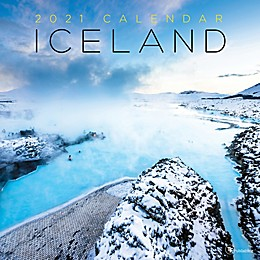 TF Publishing 2021 Iceland Wall Calendar