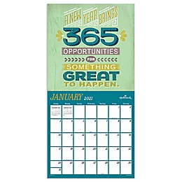 TF Publishing 2021 A Year of Good Thoughts Wall Calendar