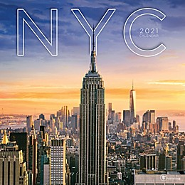 TF Publishing 2021 NYC Wall Calendar