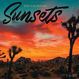 TF Publishing Sunsets 2021 Wall Calendar