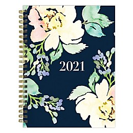 TF Publishing Classy Floral 2021 Medium Weekly/Monthly Planner and Sticker Bundle