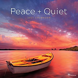 TF Publishing 2021 Peace + Quiet Wall Calendar
