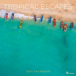 TF Publishing 2021 Tropical Escapes Wall Calendar