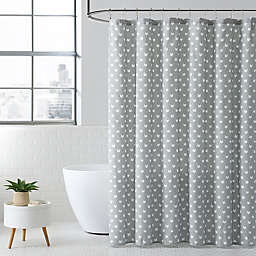 Meow Grey Shower Curtain