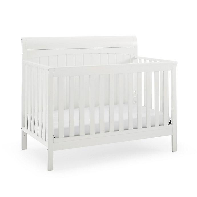 Alternate image 1 for Baby Relax Zane 5-in-1 Convertible Sleigh Crib