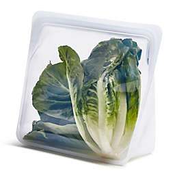 Stasher Stand-Up Silicone Reusable Food Storage Bag in Clear