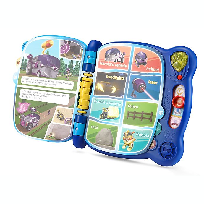 Alternate image 1 for VTech® PAW Patrol™ Mighty Pups Touch and Teach Word Book