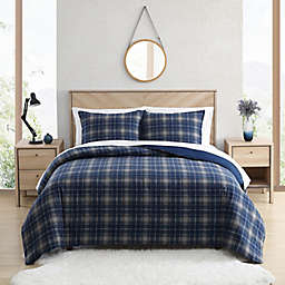 UGG® Juvie 3-Piece Flannel Duvet Cover Set