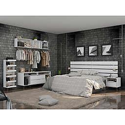 Manhattan Comfort© Rockefeller Bedroom Furniture Collection