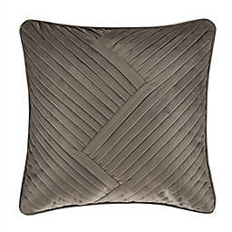J. Queen New York Milan Square Throw Pillow in Oatmeal