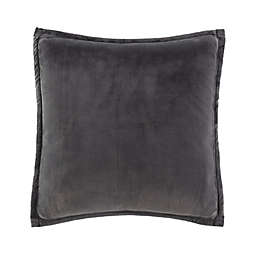 UGG® Coco Luxe Square Throw Pillows in Charcoal (Set of 2)