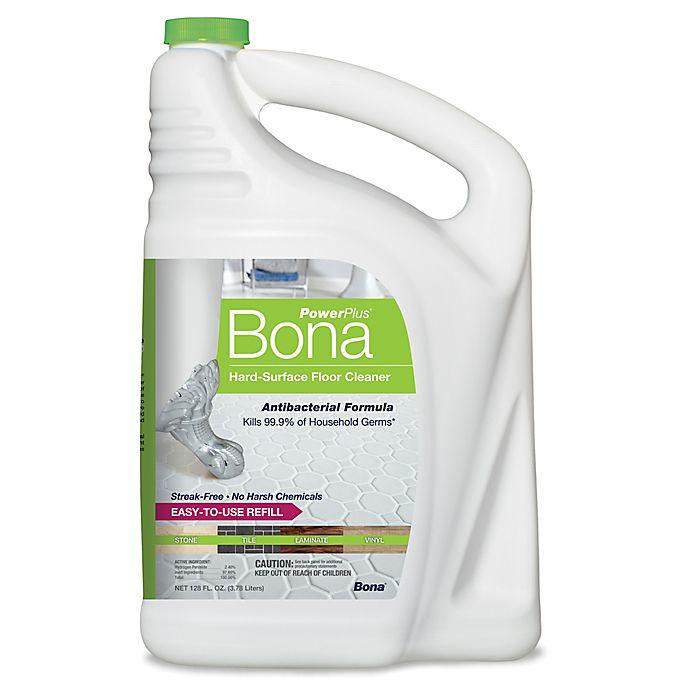 Alternate image 1 for Bona PowerPlus® Hard-Surface Antibacterial Floor Cleaner 128 oz.