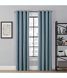 Cortina blackout Brookstone® Saville color azul