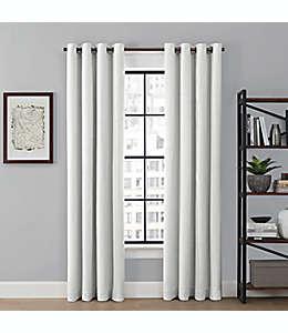 Cortina blackout Brookstone® Saville, 2.41 m color blanco