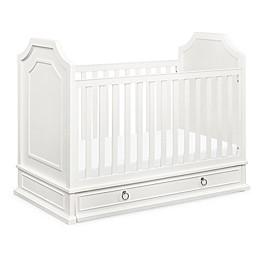 Emma Regency 3 in 1 Convertible Crib in Warm White