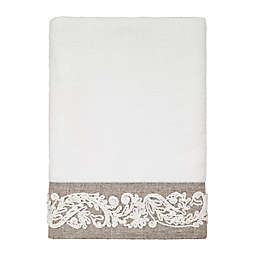 Avanti Coventry Hand Towel in White