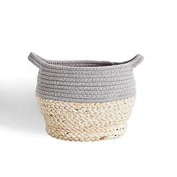 Levtex Baby Mozambique Storage Basket in Grey/Natural