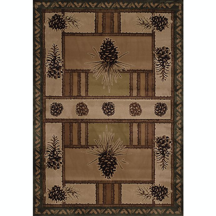 Alternate image 1 for United Weavers Pine Barrens Rug in Beige