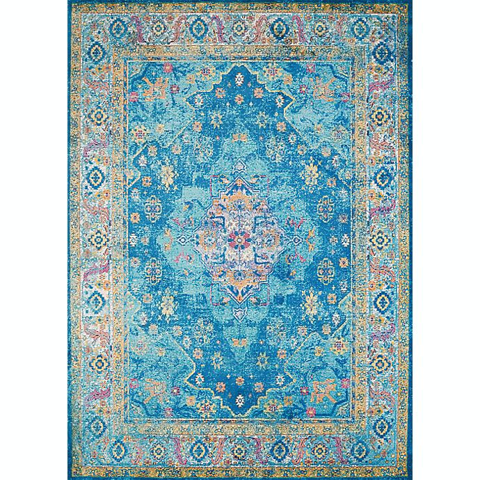 Alternate image 1 for United Weavers Rhapsody Bromley Tufted 5' x 8' Area Rug in Cerulean